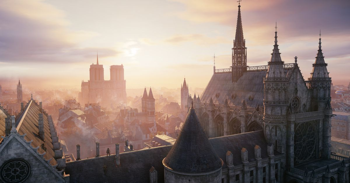Review-bombers go after Assassin's Creed Unity — to praise Ubisoft's Notre-Dame effort