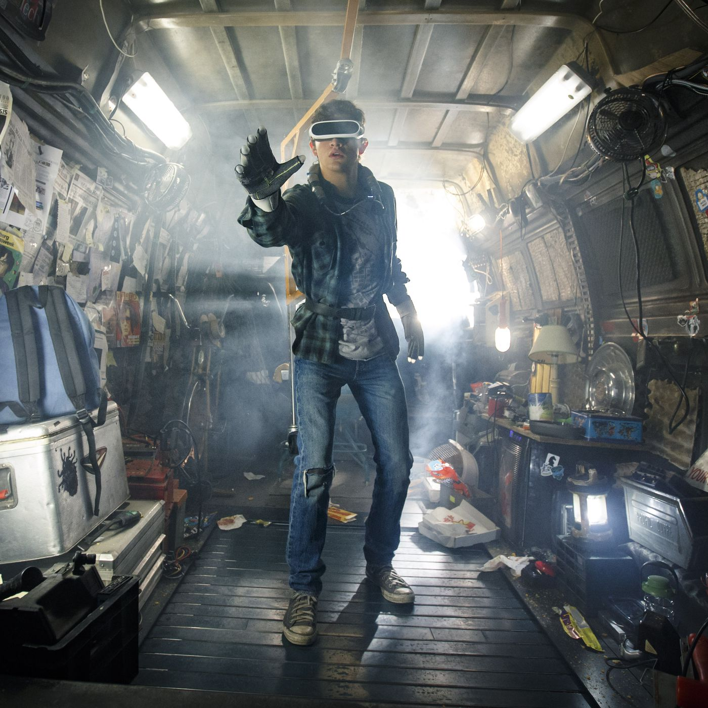 Ready Player One's OASIS would actually be a garbage video