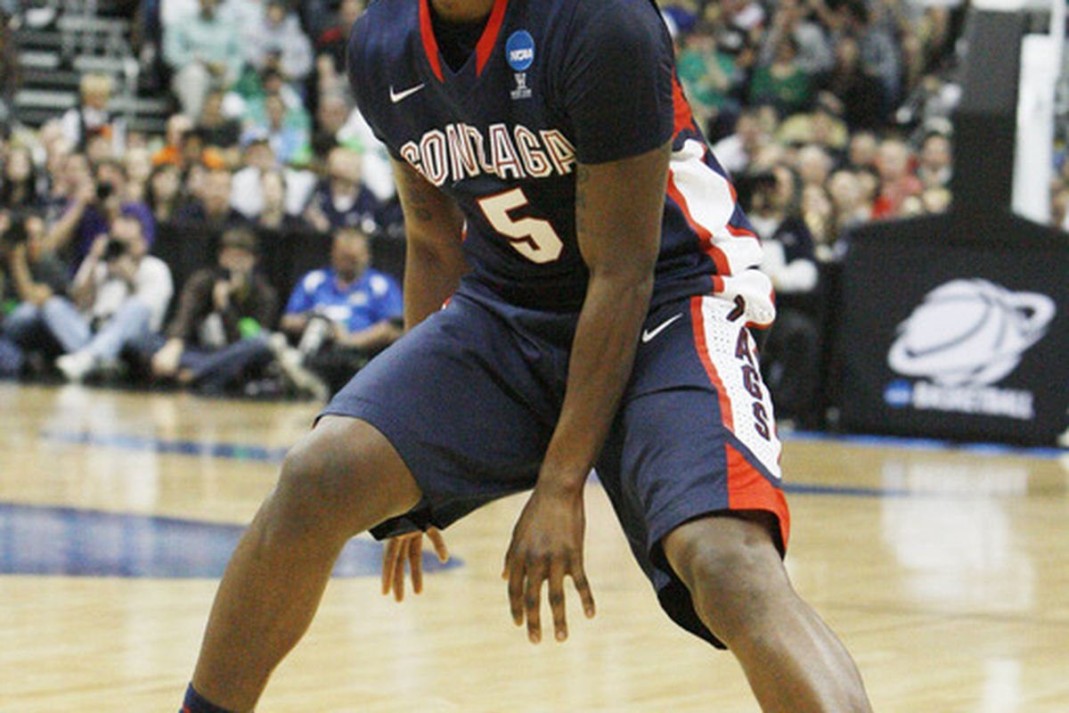 2013 prospect Jordan Mathews reminds us a lot of current Zag, Gary Bell. Mandatory Credit: Charles LeClaire-US PRESSWIRE