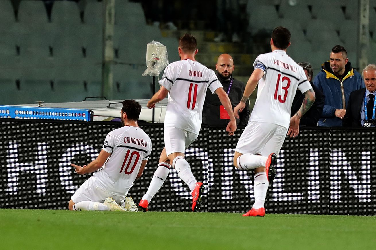 Rossoneri Round-up for 13 May: Calhanoglu voted AC Milan?s man of the match against Fiorentina