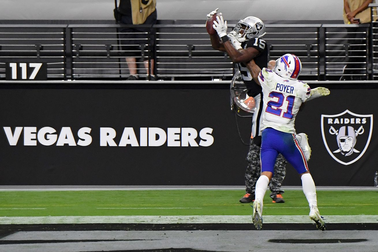 Buffalo Bills v Las Vegas Raiders
