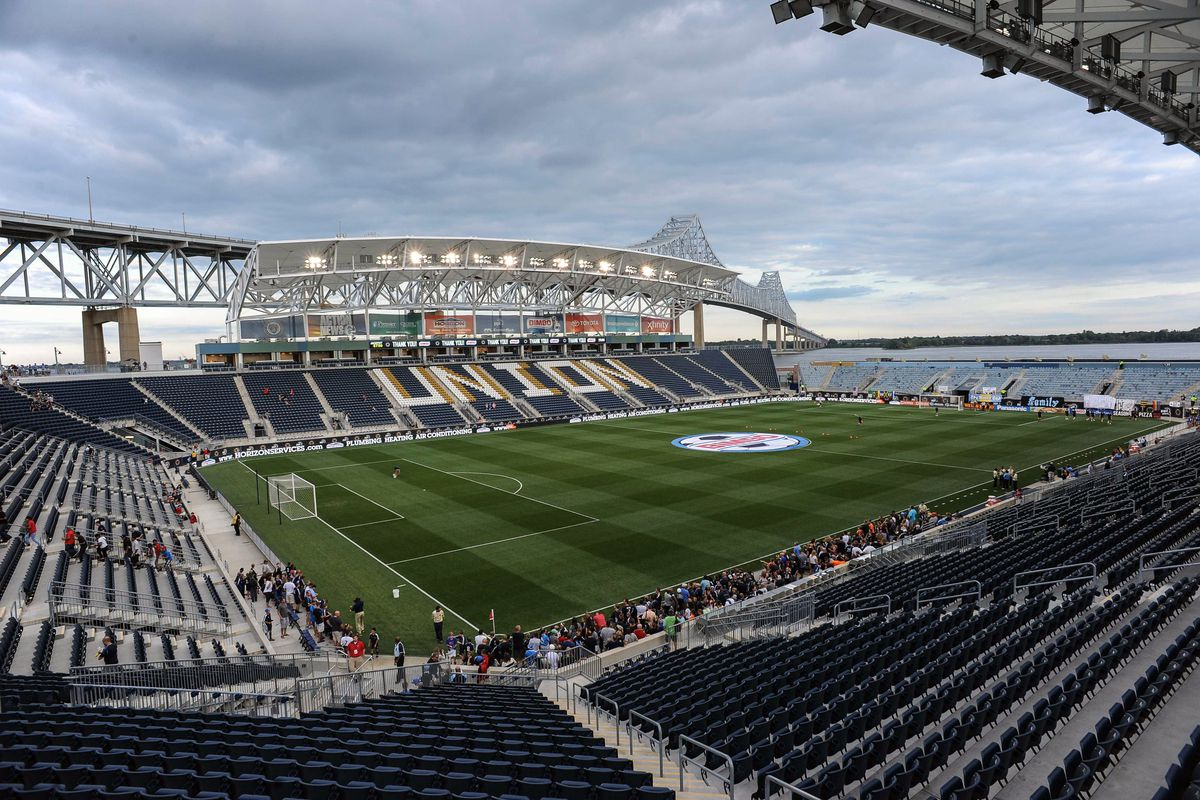 The stunning views of Philadelphia's PPL Park, where TFC will clash with the Union on Wednesday