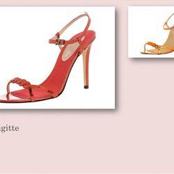 Brigitte sandal, $355.