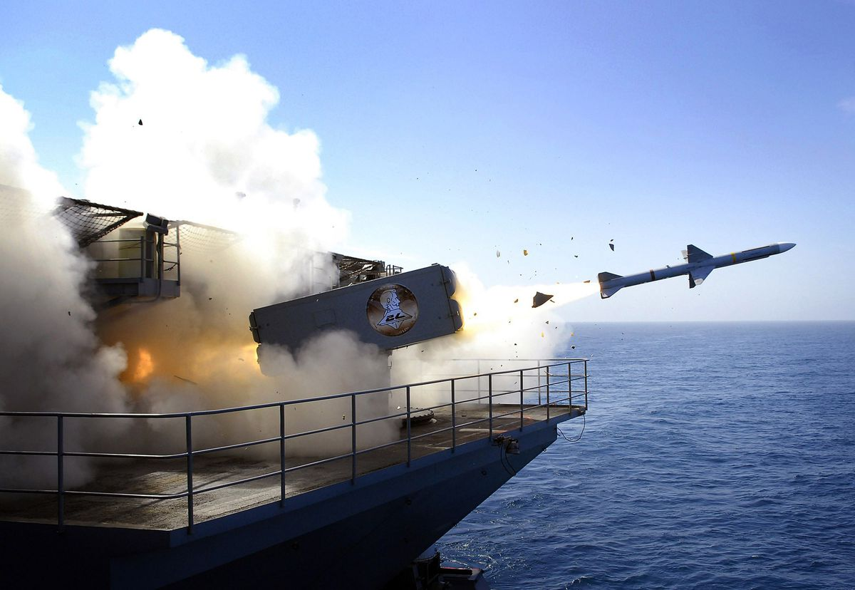 U.S. Navy Trains In Pacific