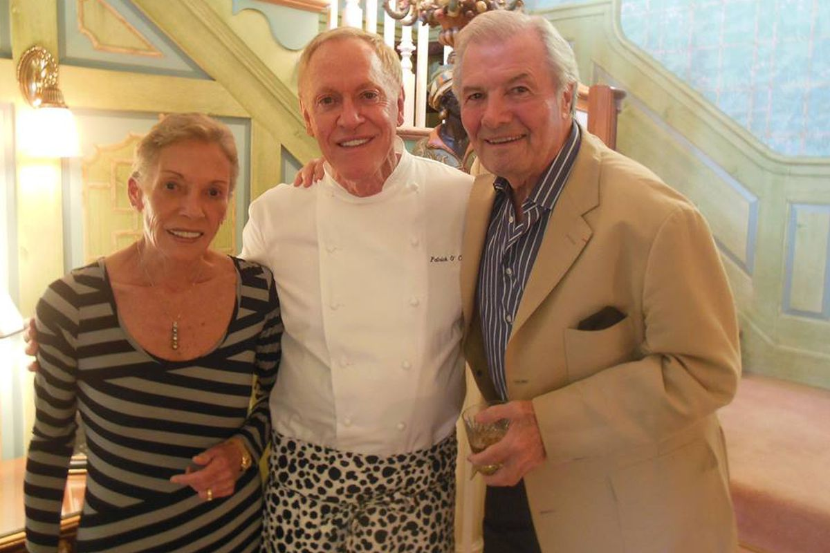 The Inn's Patrick O'Connell, plus Jacques Pepin and his wife, Gloria