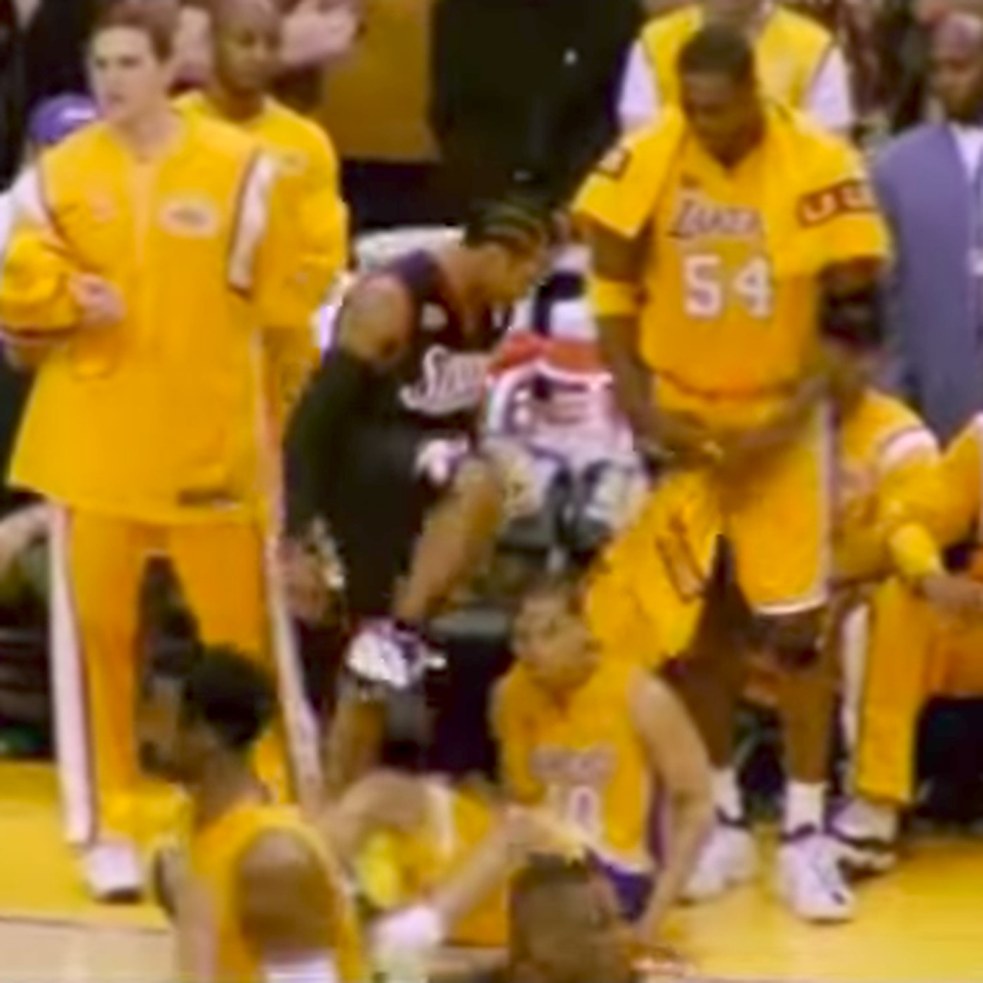 Allen Iverson stepping over Tyronn Lue 16 years ago is a moment that might  not ever happen again - SBNation.com 899464761