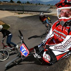Heather Allred of Murray recently won an international BMX World Championship competition staged in Adelaide, Australia.
