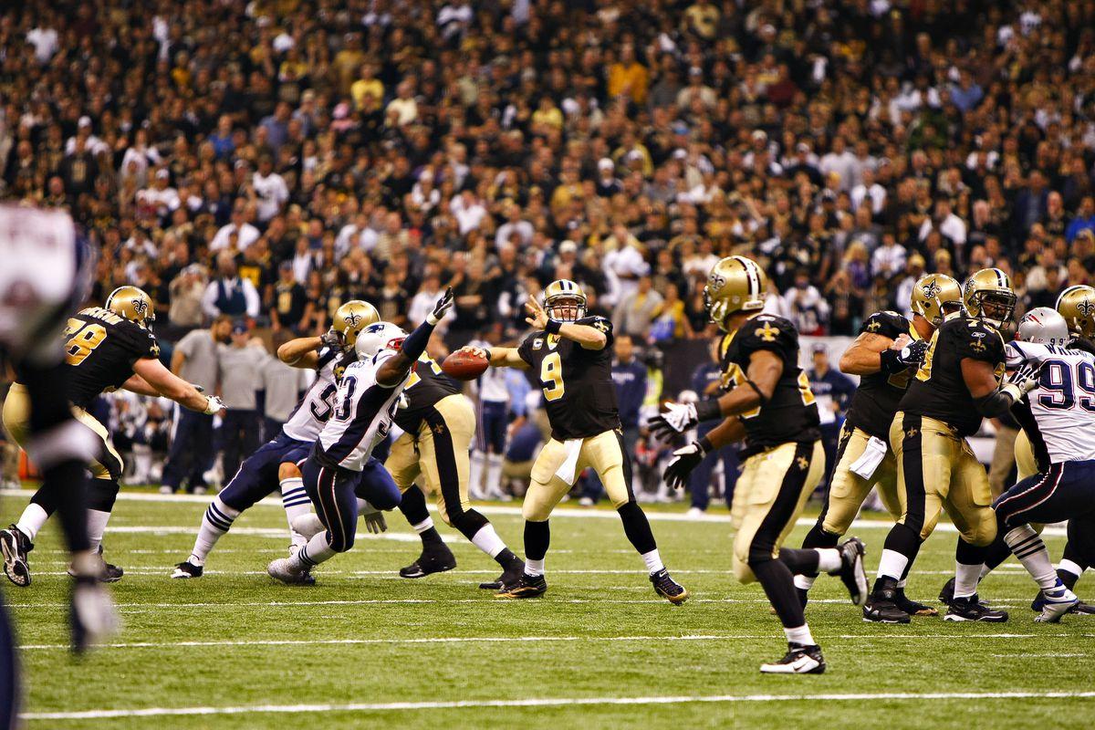 New England Patriots v New Orleans Saints