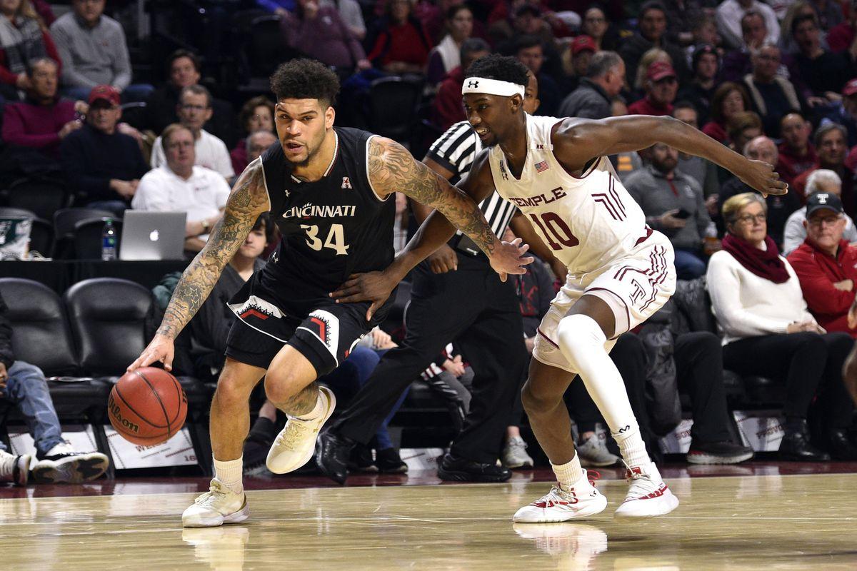 NCAA Basketball: Cincinnati at Temple