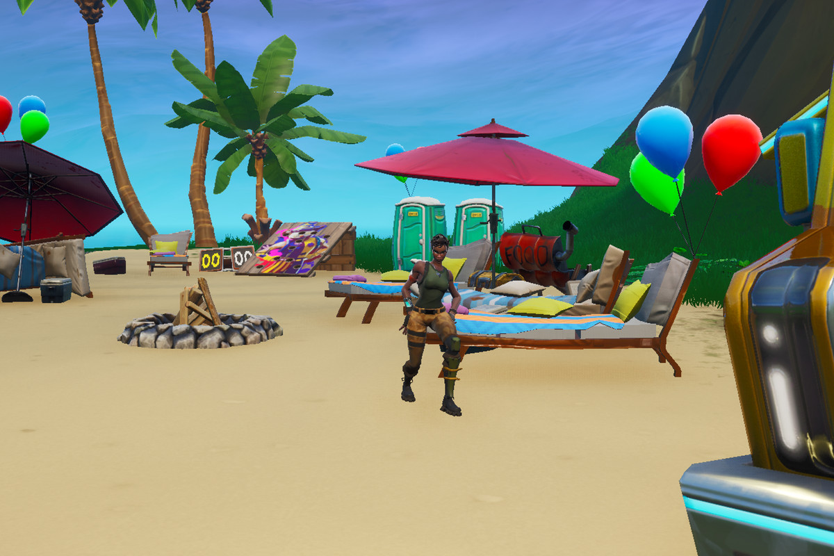 Dance at different beach parties map and locations ...