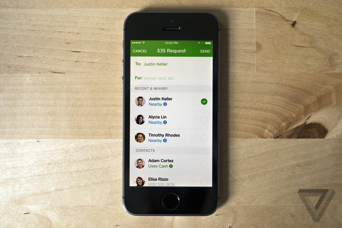 Square Cash now lets you pay nearby friends over Bluetooth