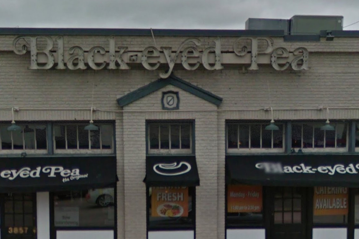 The original location of the Black Eyed Pea is no more.