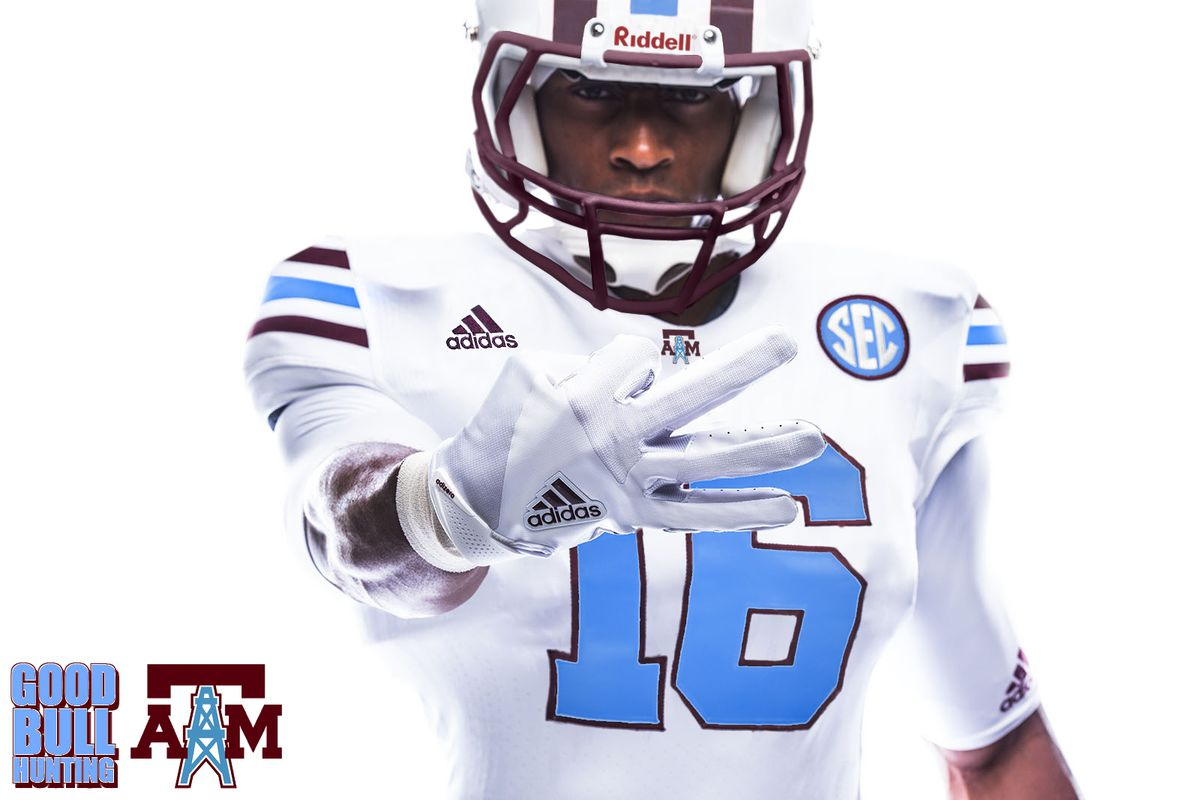 Texas A M to wear Houston Oilers tribute uniforms in response to Arkansas   Cowboys look eb9691ace