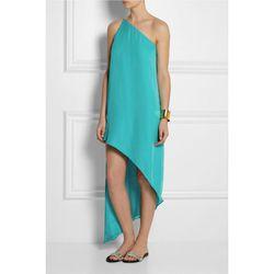 "<b>Mason by Michelle Mason</b> One-Shoulder Dress, <a href=""http://www.net-a-porter.com/product/402062/Mason_by_Michelle_Mason/one-shoulder-silk-crepe-dress"">$435</a>"