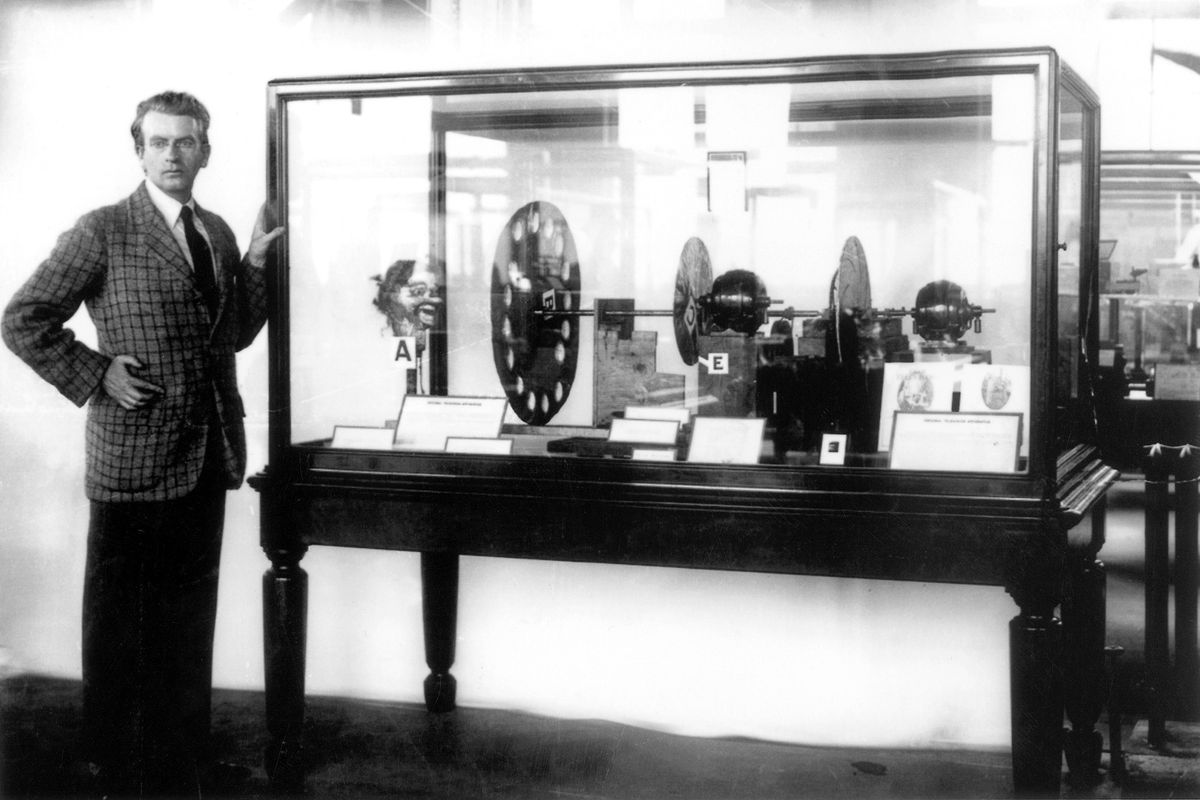 The mechanical television debuted 90 years ago  Its inventor was