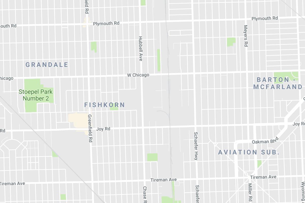 Detroit neighborhoods named incorrectly on Google Maps