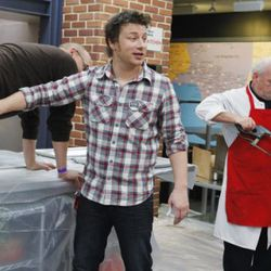 """<a href=""""http://eater.com/archives/2011/05/03/jamie-olivers-food-revolution-goes-back-to-friday-nights.php"""" rel=""""nofollow"""">Jamie Oliver's Food Revolution Gets Bumped to Fridays</a><br />"""