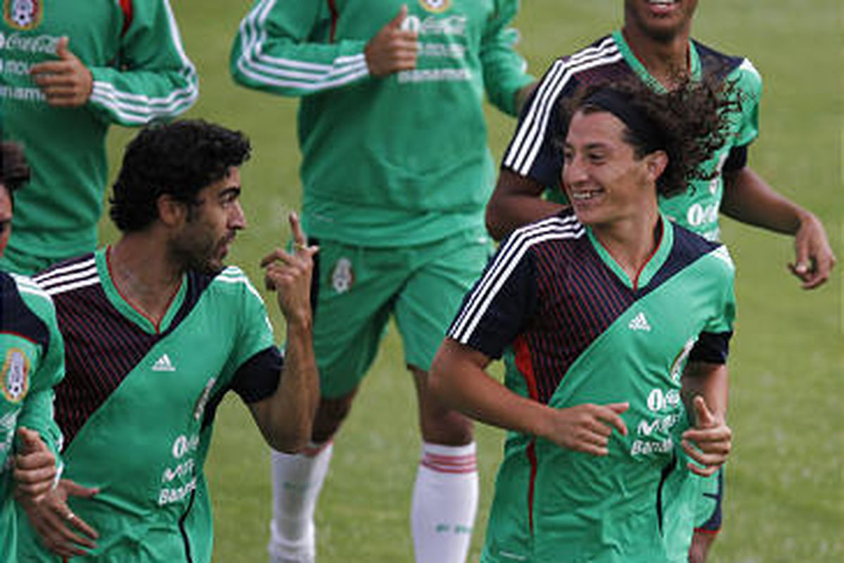Mexico is favored in what amounts to a must-win match against the U.S. tonight.