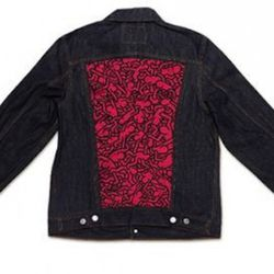 Levi's + MOCA Keith Haring Trucker Jacket, available August 6