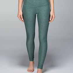 """<b>Lululemon</b> Wunder Under pant in heathered forest, <a href=""""http://shop.lululemon.com/products/clothes-accessories/pants-yoga/Wunder-Under-Pant-31552?cc=14581&skuId=3548087&catId=pants-yoga"""">$82</a>"""