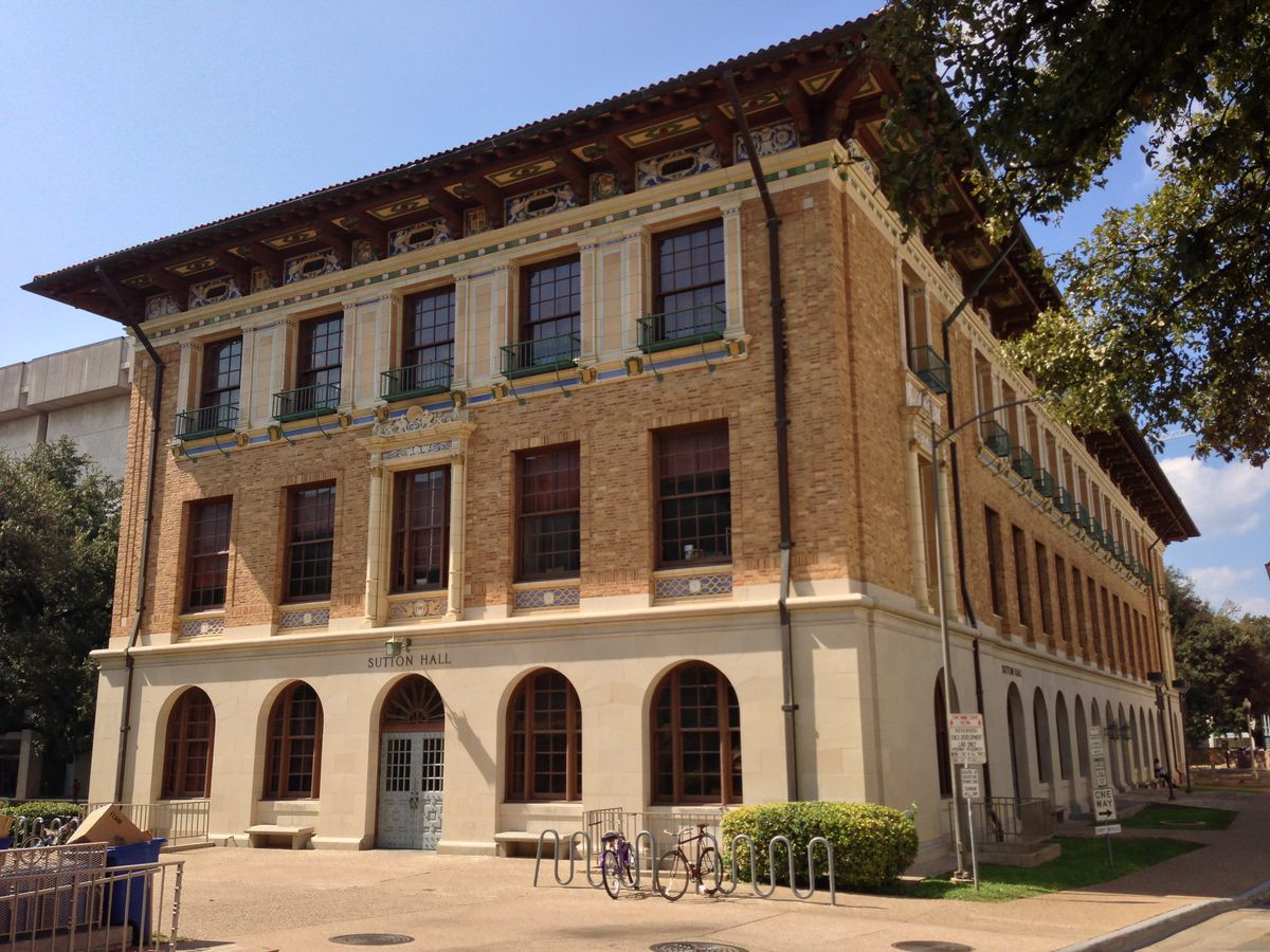 Sutton Hall UT School of Architecture