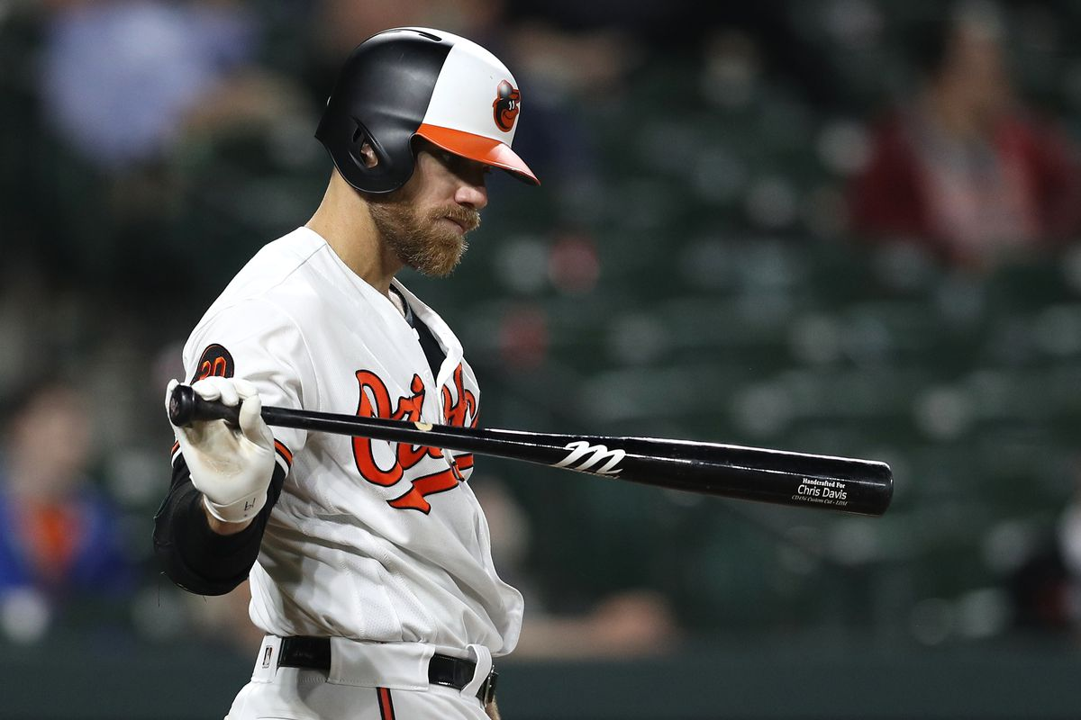 31bb4adcc Chris Davis  search for a measly base hit is a baseball tragedy. New ...