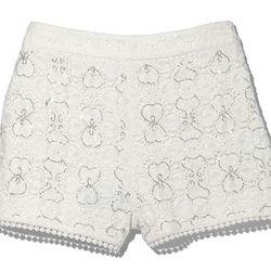 Beaded shorts, $49.95