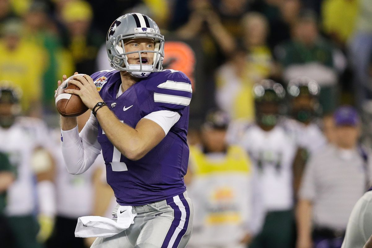 Kansas State quarterback Collin Klein might be the most recognizable name in today's East-West Shrine Game