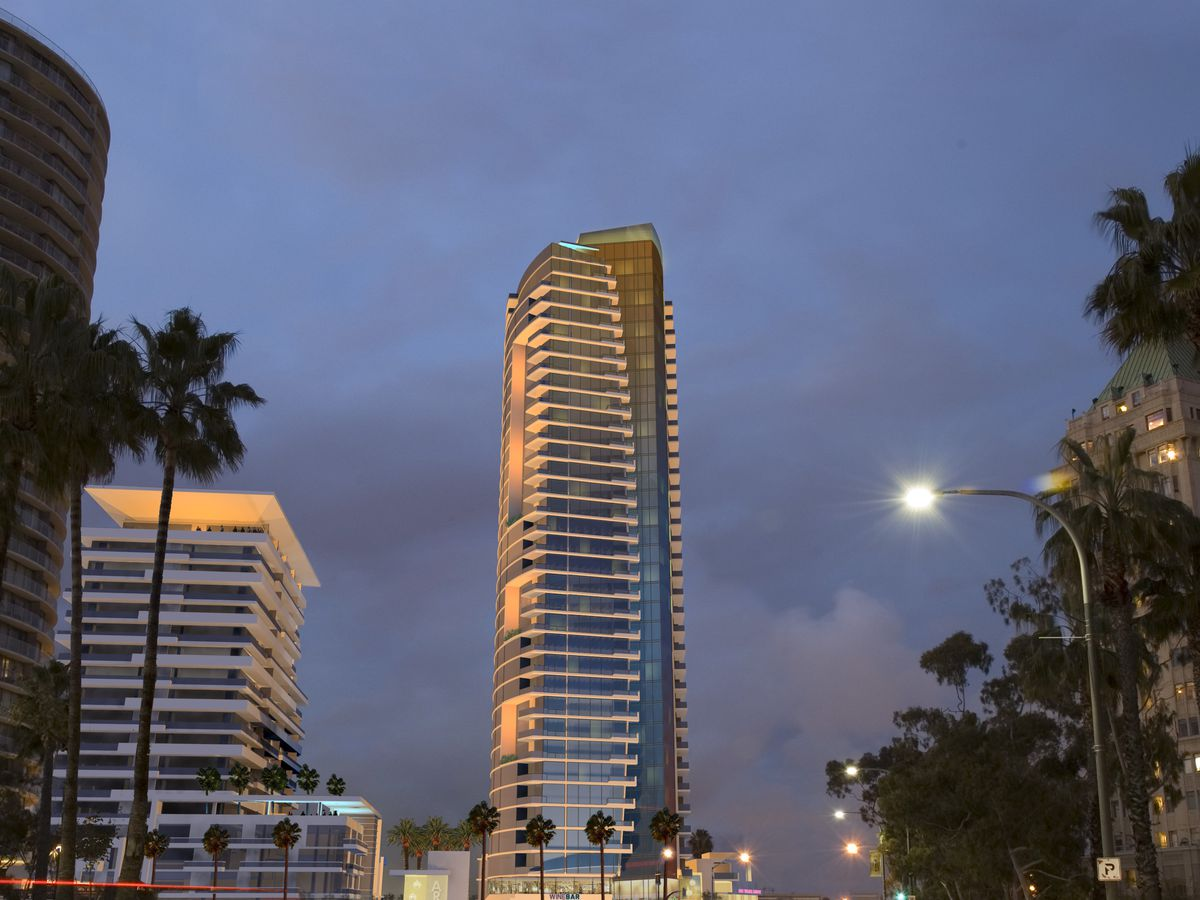 Shoreline Gateway tower