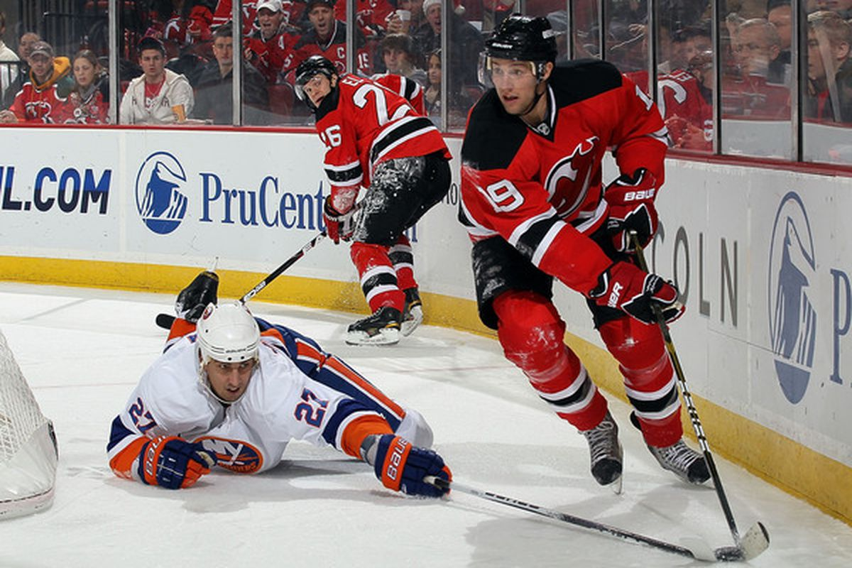 The Islanders are .500 when Milan Jurcina plays. Dumb luck, or talent?
