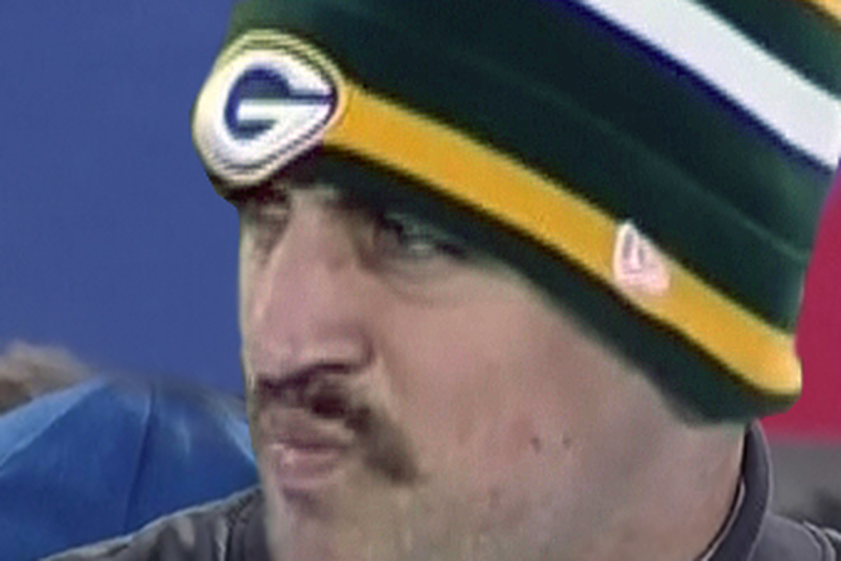 Americas Team Has Embraced Favorite Style Of Facial Hair The Mustache Aaron Rodgers