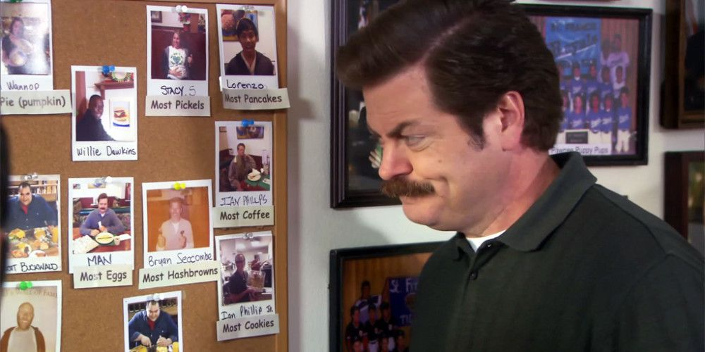 Ron on Wall