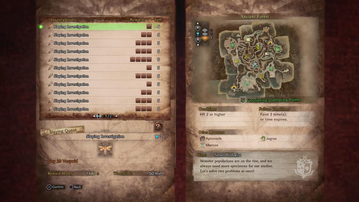 Monster Hunter: World guide: Investigations - Polygon