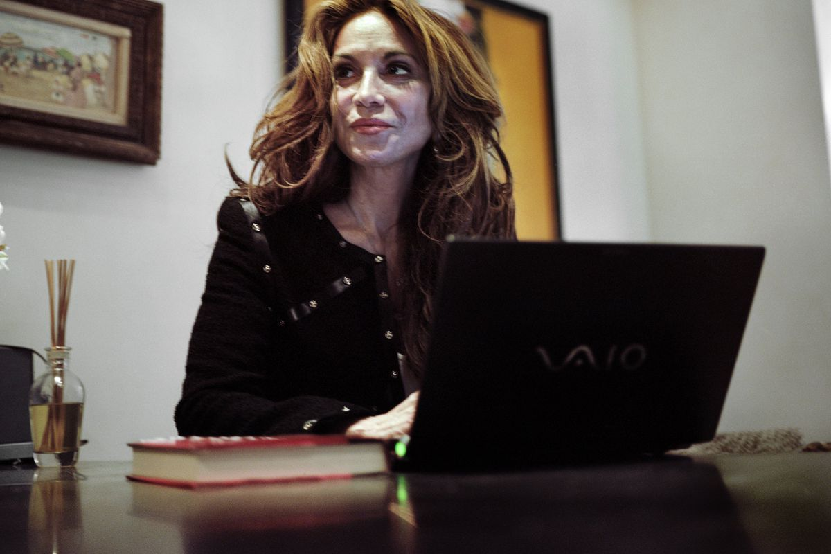 A 2010 photo of Pamela Geller, who organized Sunday's event in Garland, Texas