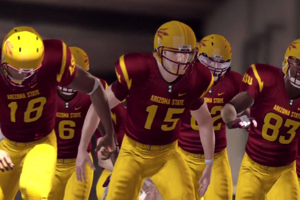 Tim Tebow, ASU quarterback. Alert Skip Bayless.