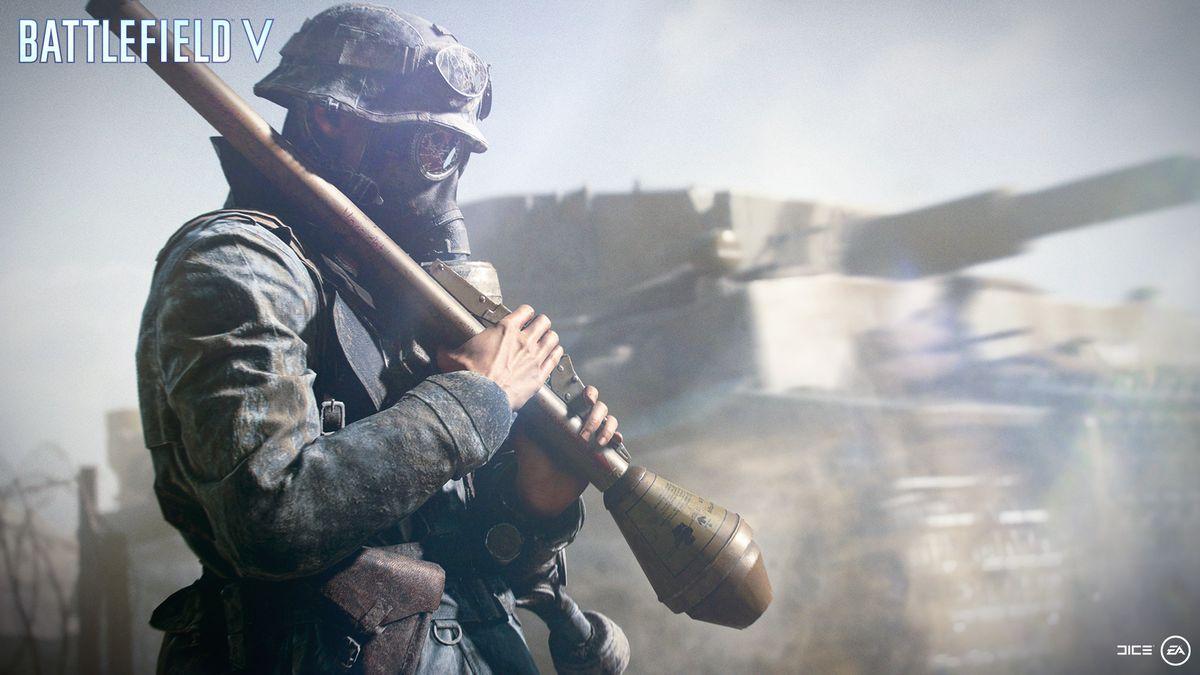 Battlefield 5 - Axis Assault class with Panzerfaust