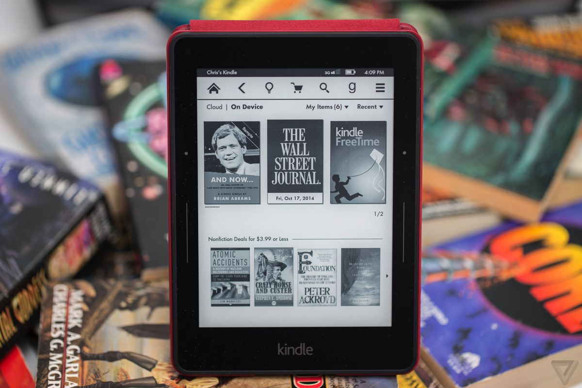 Editor's Choice: Kindle Voyage - The Verge