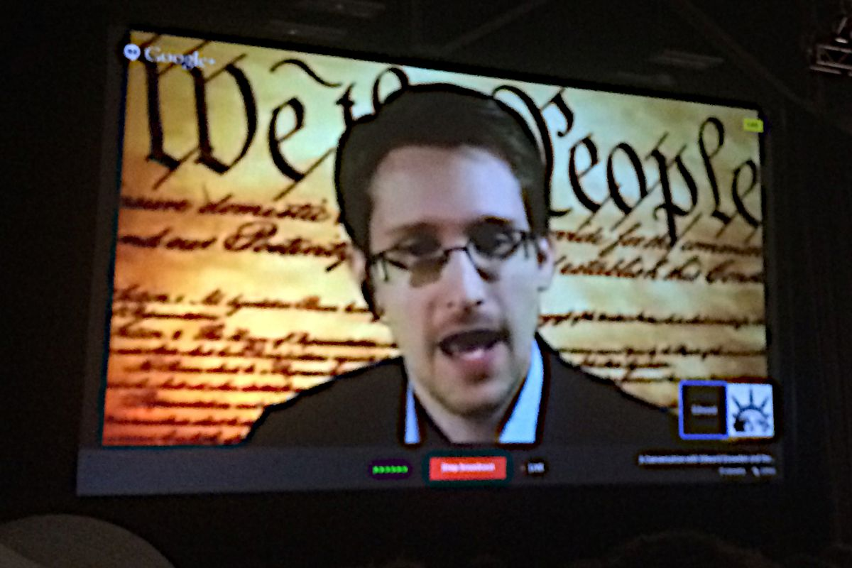 Edward Snowden Plans to Work on Privacy Tech