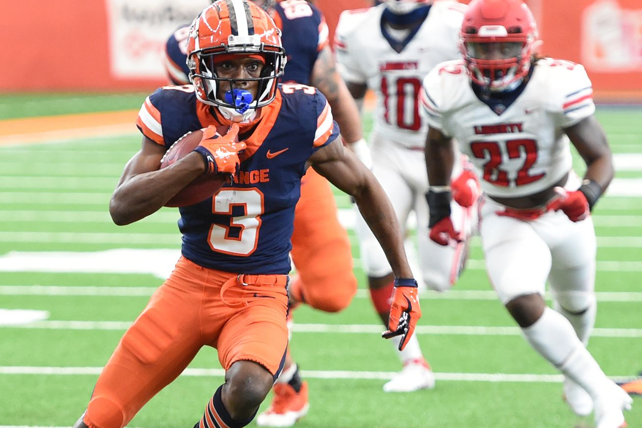 NCAA Football: Liberty at Syracuse