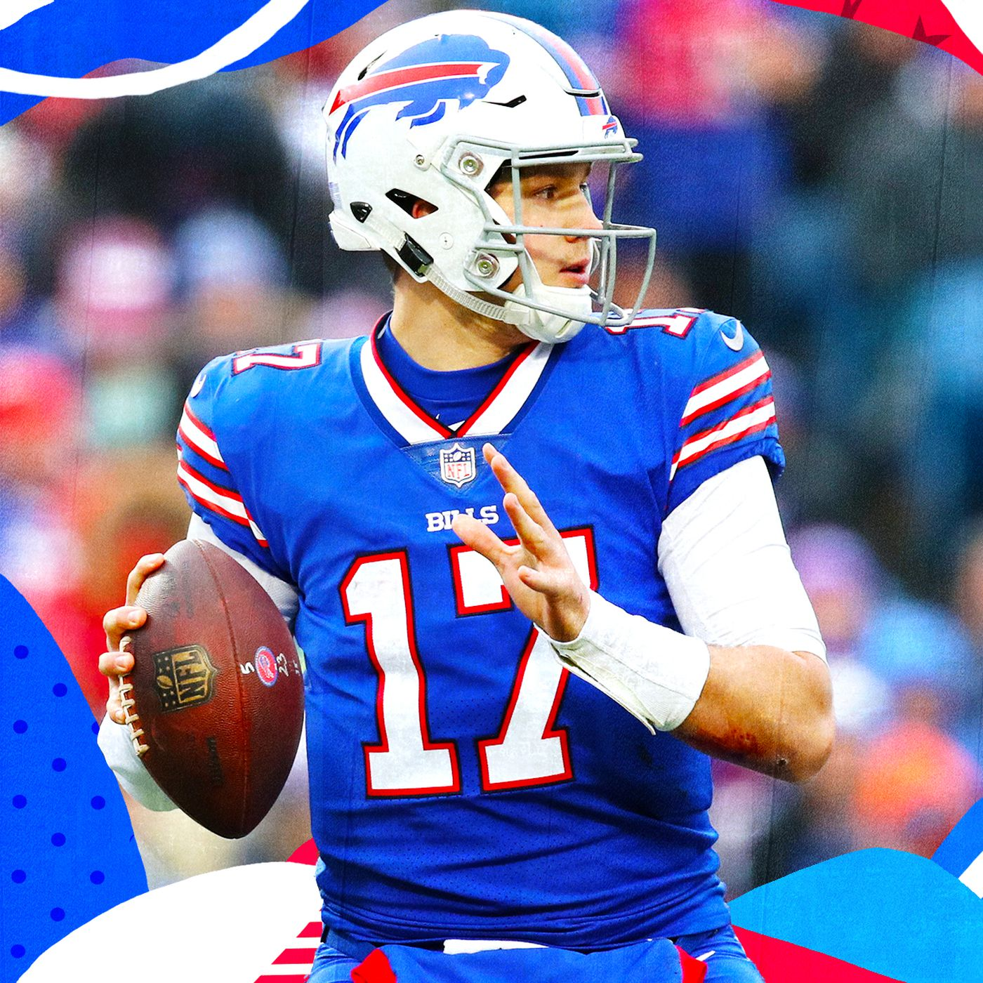 finest selection 6bac7 ac8e5 The Bills' 2019 season is about letting Josh Allen prove ...