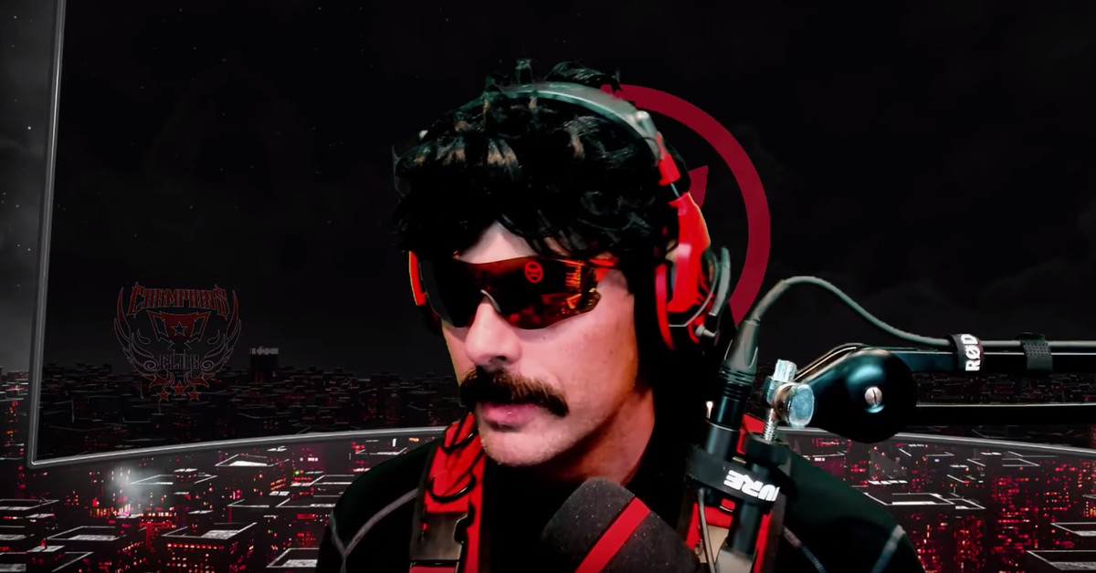 Dr. Disrespect was banned from E3 for streaming inside a bathroom