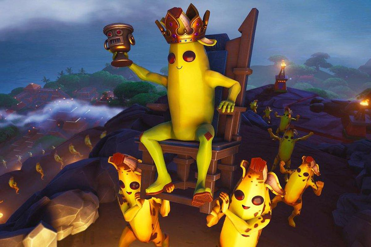 Fortnite Banana King Hidden Banner Challenges Location And