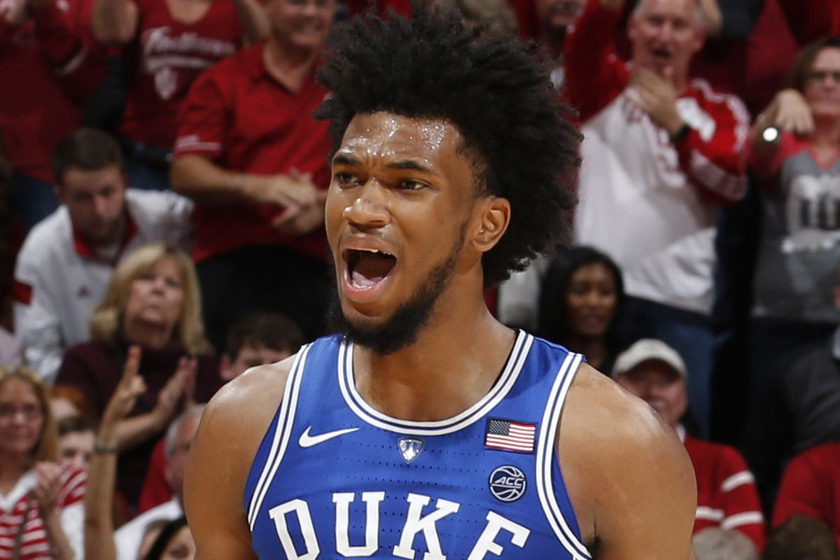 NCAA Basketball: Duke at Indiana