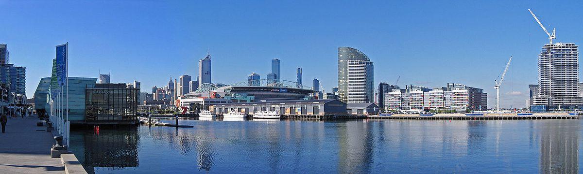 Panorama of Melbourne, via Wikipedia