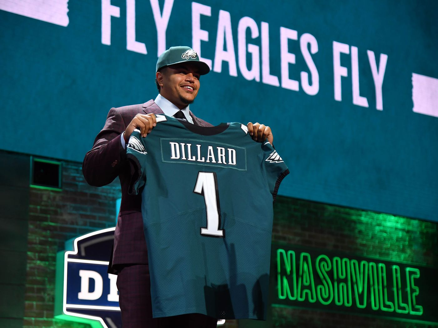 9f1b66a8 NFL Draft Grades 2019: Eagles earn positive reviews for selecting ...