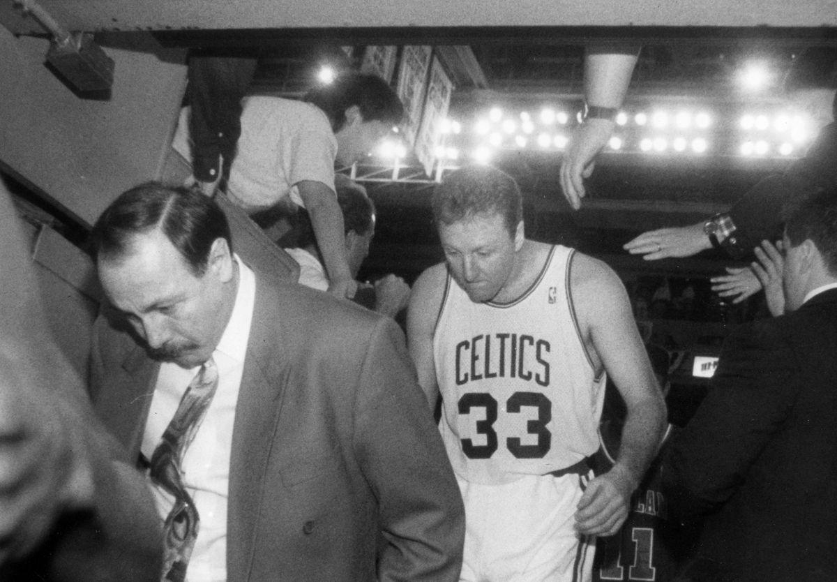 Boston Celtics Larry Bird...