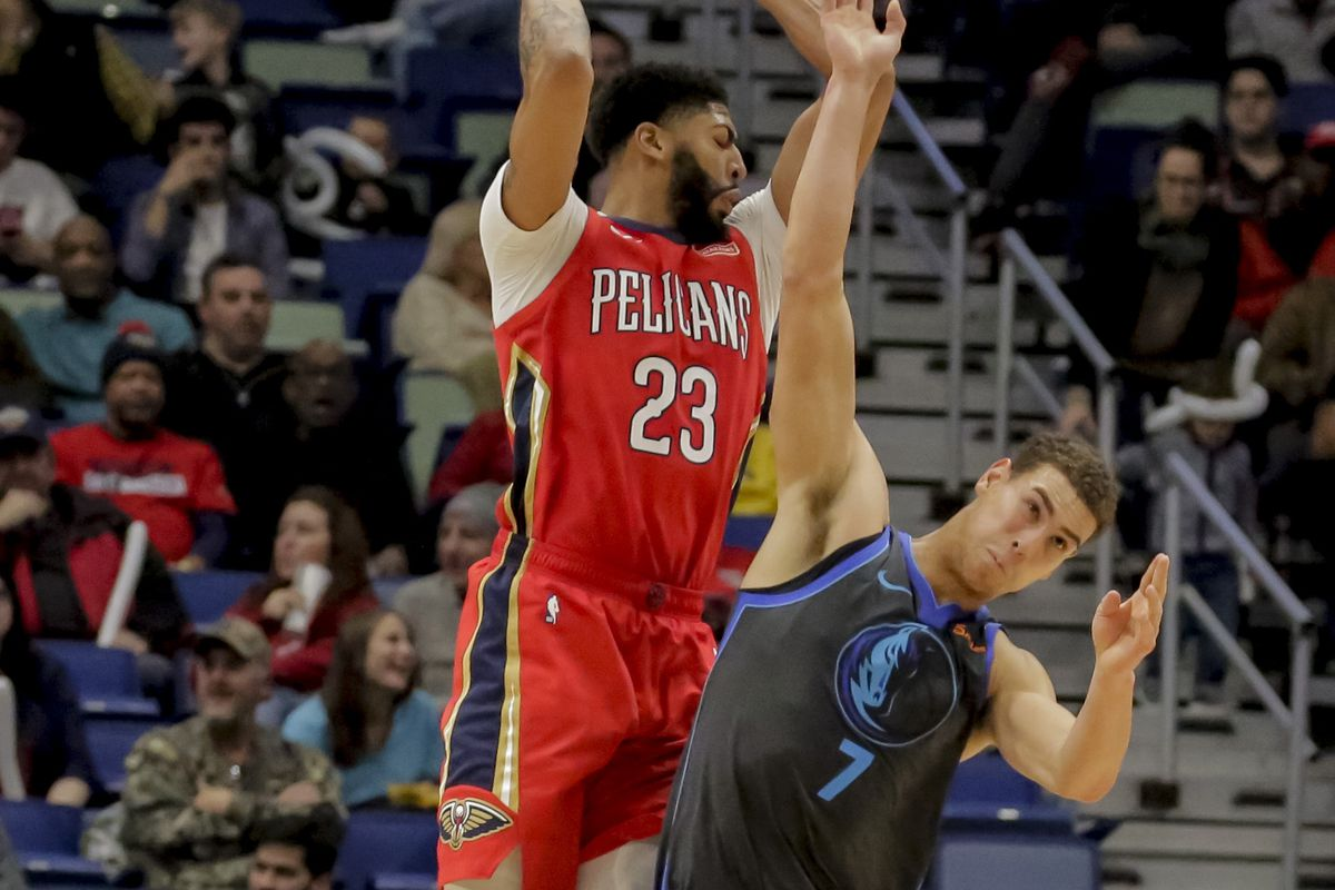 game thread dallas mavericks vs new orleans pelicans mavs moneyball