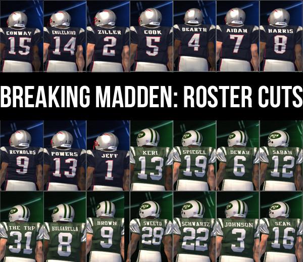 rostercuts