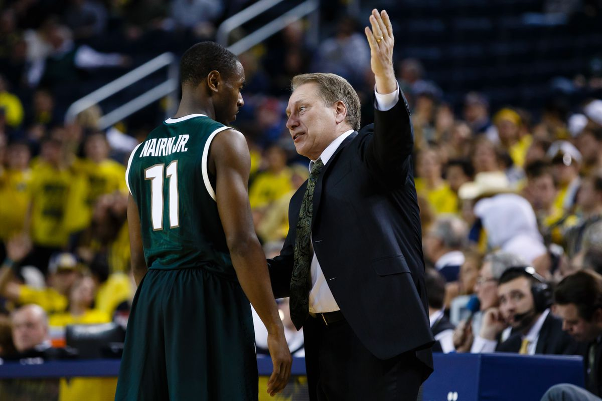For Tom Izzo, the future is now at point guard with Lourawls Nairn Jr.