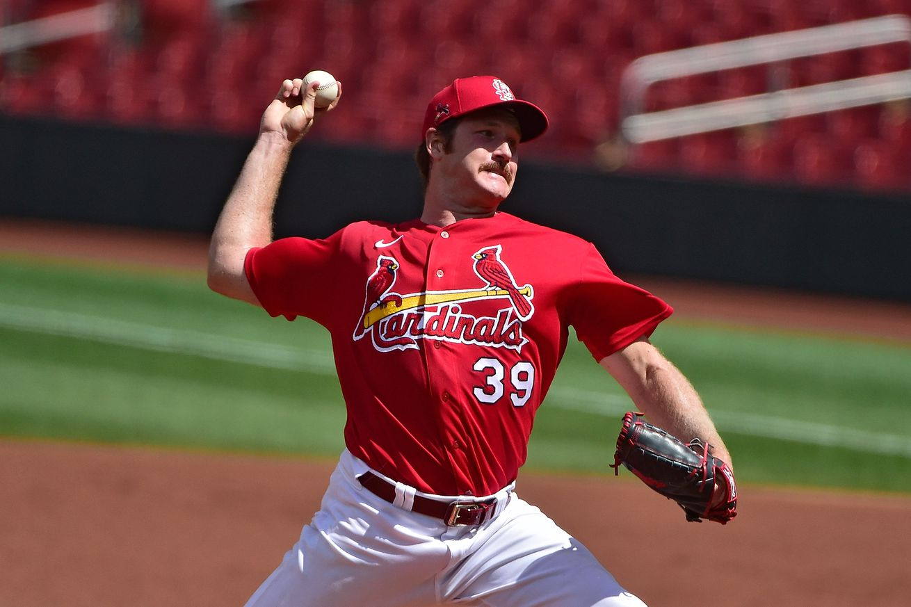 MLB: Exhibition-Kansas City Royals at St. Louis Cardinals